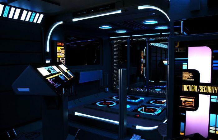 Квартира настоящего фаната сериала Звёздный путь (15 фото)
