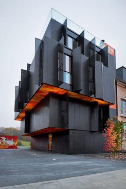 Шикарные дизайнерские интерьеры домов и квартир (35 фото)