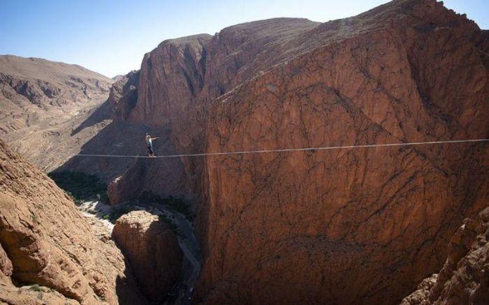 Мировая рекордсменка по хайлайну (11 фото)