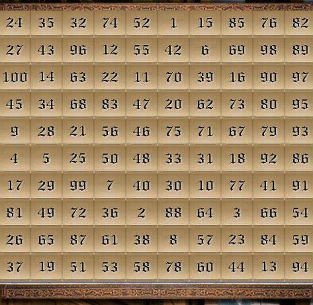 Средневековая таблица желаний (1 фото + текст)