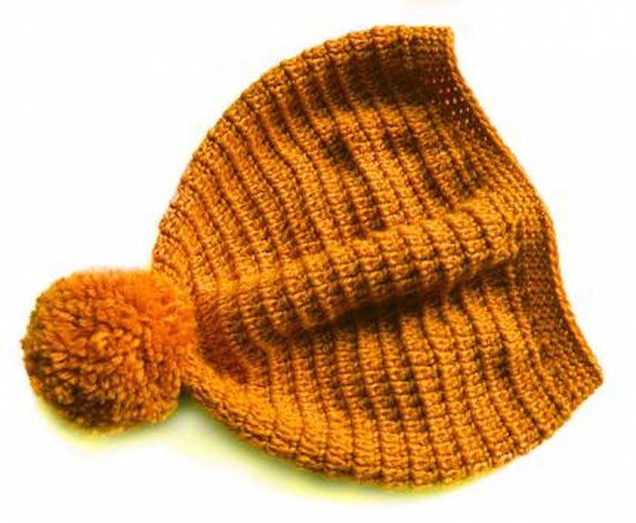 Интересная чудо-шапка (2 фото)