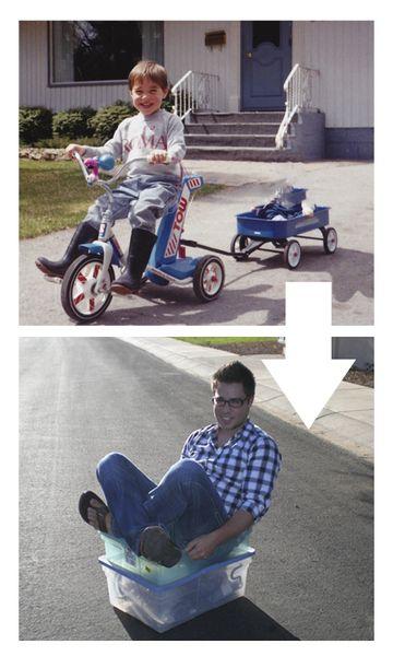 Новый стиль фотографий Тогда и Сейчас (6 фото)