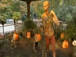 Скульптуры к Хэллоуину