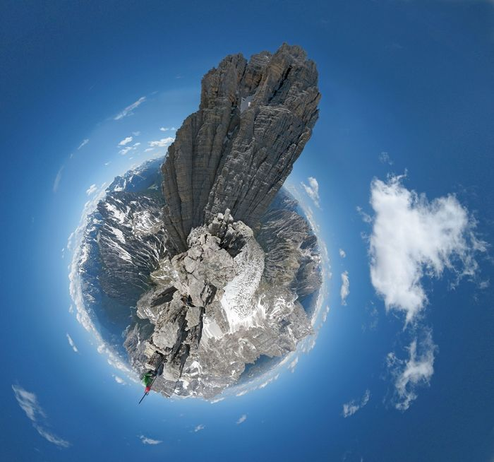 Панорамы-планеты Дэна Аркла (11 фото)