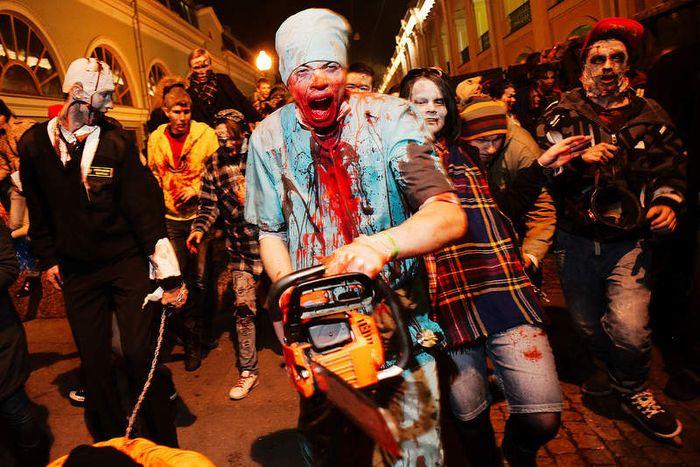 Флэшмоб Zombie Walk (20 фото)