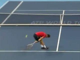 Классный удар в теннисе