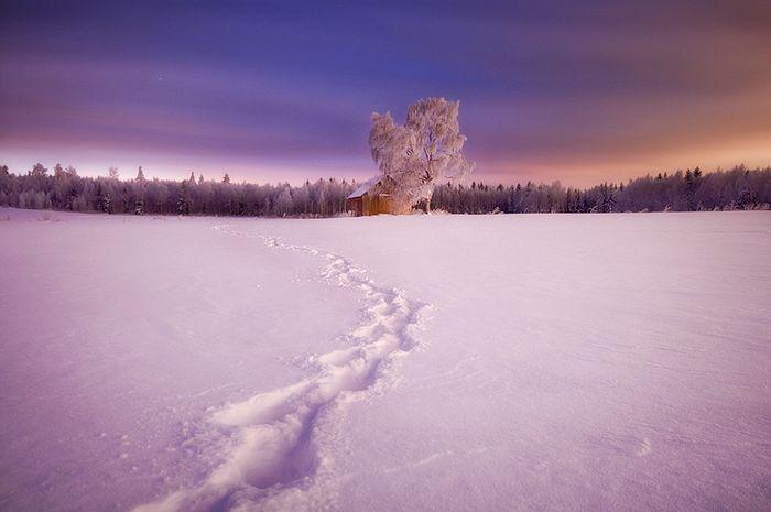 Пейзажи Финляндии (14 фото)
