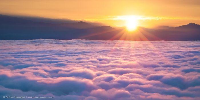 Океан облаков (11 фото)
