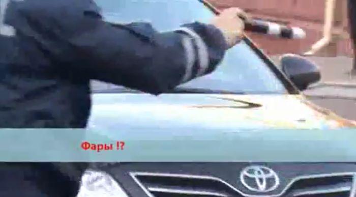 Брянское ГИБДД против администрации города (видео))