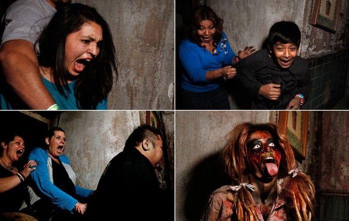 Ужас на лицах (5 фото)