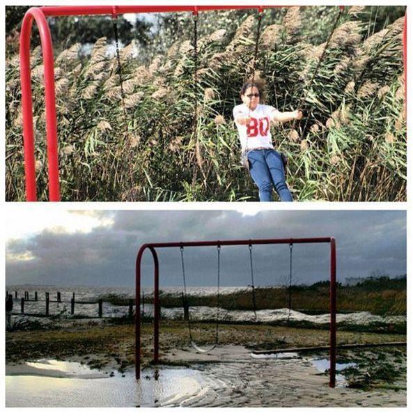 До и после урагана Сэнди (24 фото)