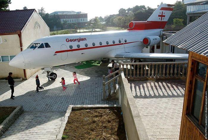 Самолет для детишек (6 фото)