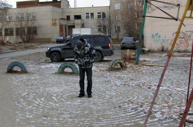 Неопознанное — круги на снегу в Екатеринбурге (7 фото)