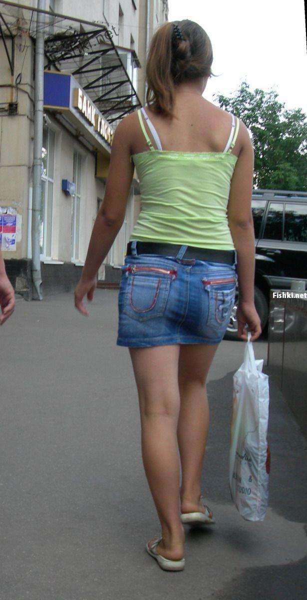 Летние девушки в Москве (88 фото)