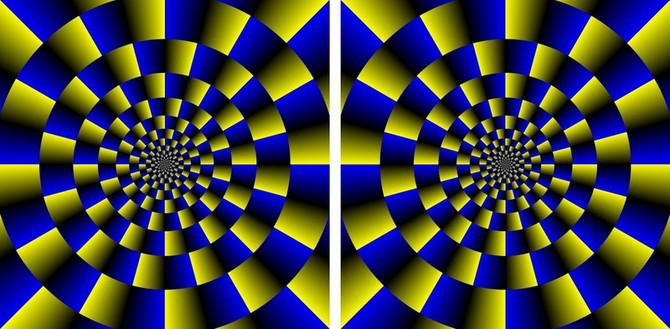 Оптические иллюзии (23 фото)