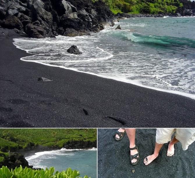 Пляжи с необычным песком (5 пляжей, 15 фото)