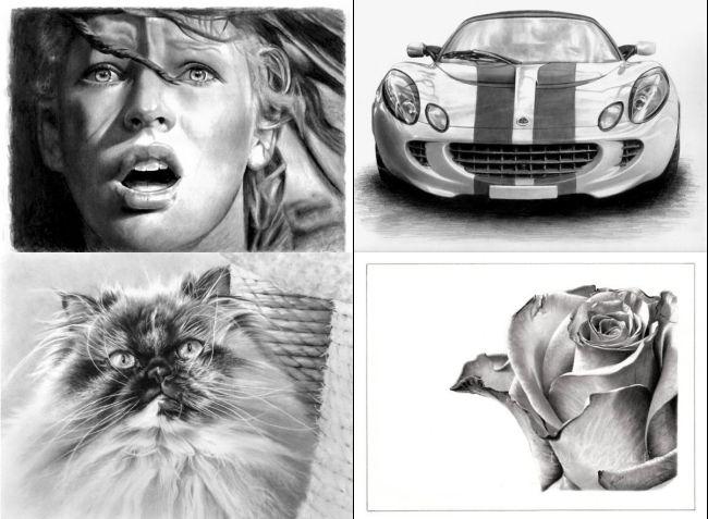 Рисунки карандашом (31 фото)