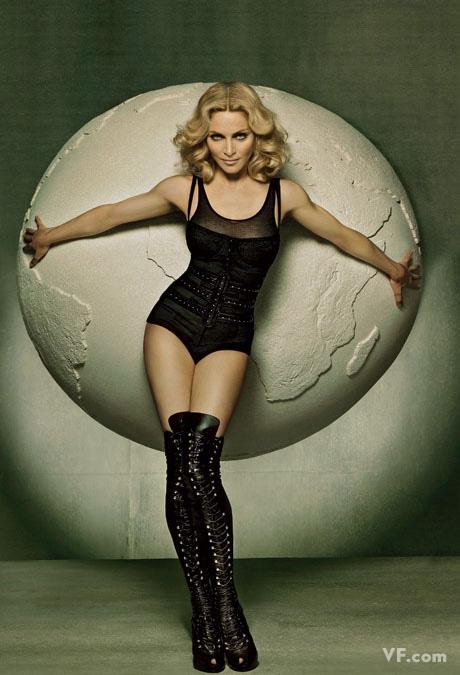 Май 2008: Мадонна. Photograph by Steven Meisel