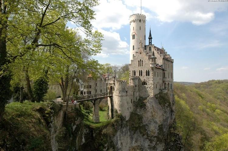 Старинные замки - шедевры архитектуры (69 фото)
