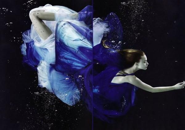 Танцы под водой (45 фото)