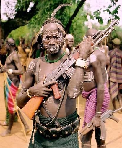 Страшные сексуальные африканские ритуалы