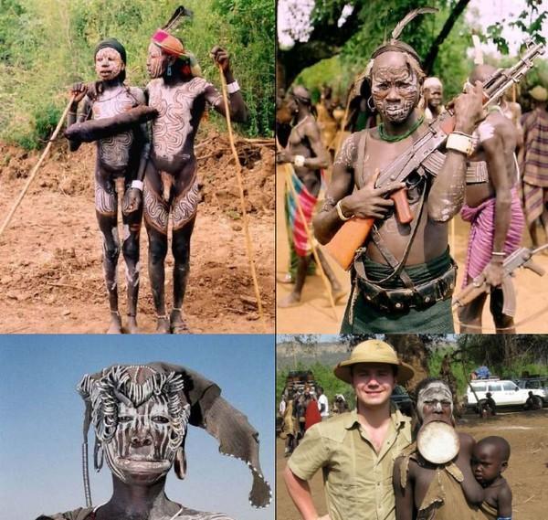 Сексуалбные обычаи диких племён