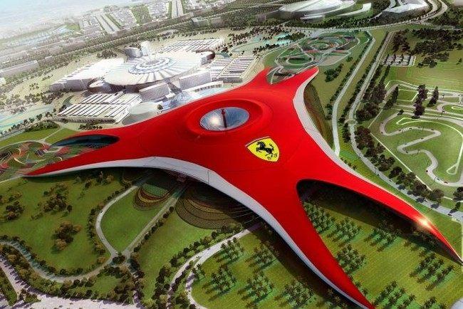 Парк Ferrari в Дубае (8 фото+видео)