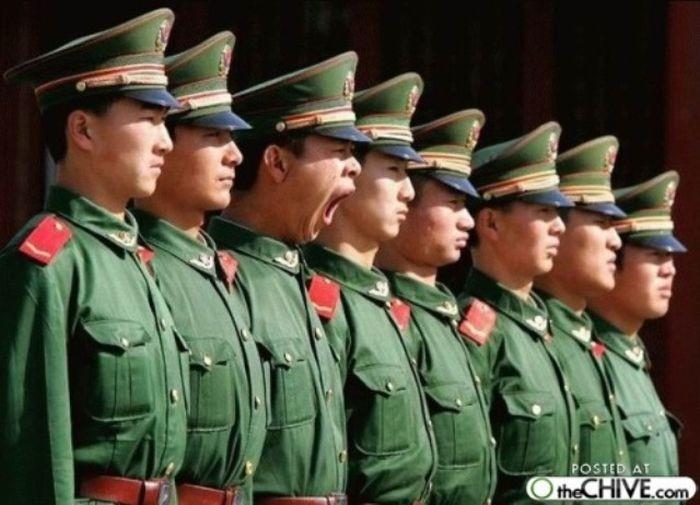 Дисциплина в Китайской армии