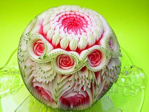 Художества из фруктов и овощей (38фотографий)
