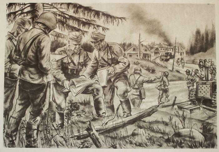 Рисунки войны (43 фото)
