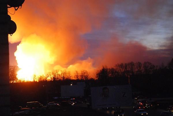 Взрыв в Ульяновске. (7 фото+4 видео)
