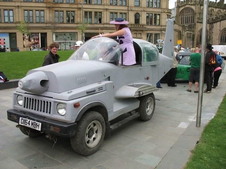 Эксклюзивный тюнинг автомобиль (44 фото)