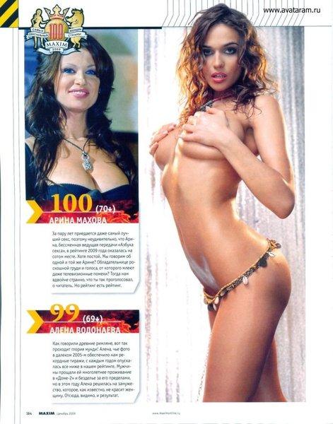 Сотка сексуальнейших женщин страны (43 фото)