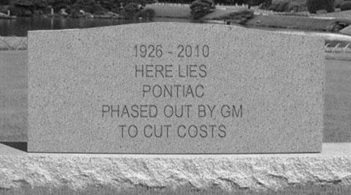 На 84-м году жизни скончалась марка Pontiac (текст)
