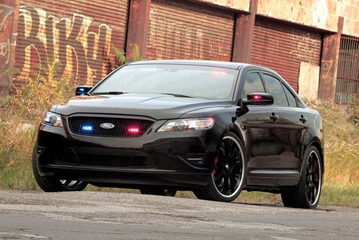 Новый перехватчик от Ford покажут на выставке SEMA (14 фото)