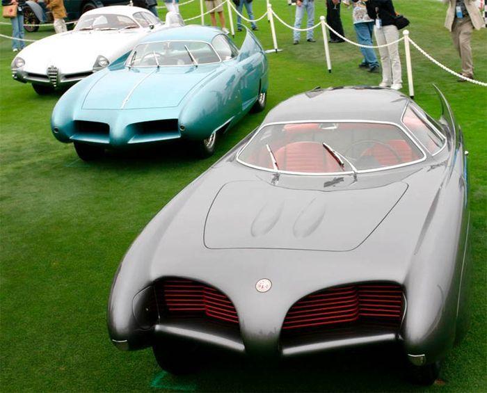 Концепт-кары Alfa-Romeo 1953-1955 годов (42 фото)