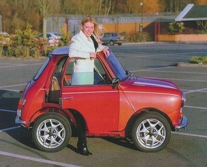 Автомобили коротышки (18 фото)