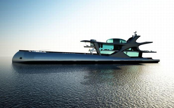 Белуга - самая крутая яхта в мире (14 фото)