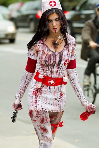 Страшный холлоуин (7 фото)