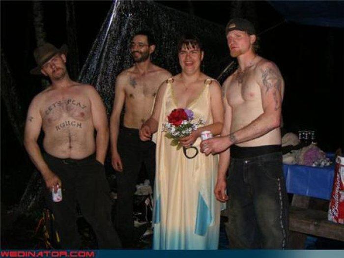 Нелепые свадебные фотографии (72 фото)