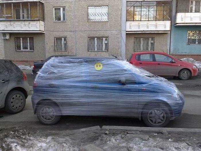 Законсервировал машину на зиму! (3 фото)
