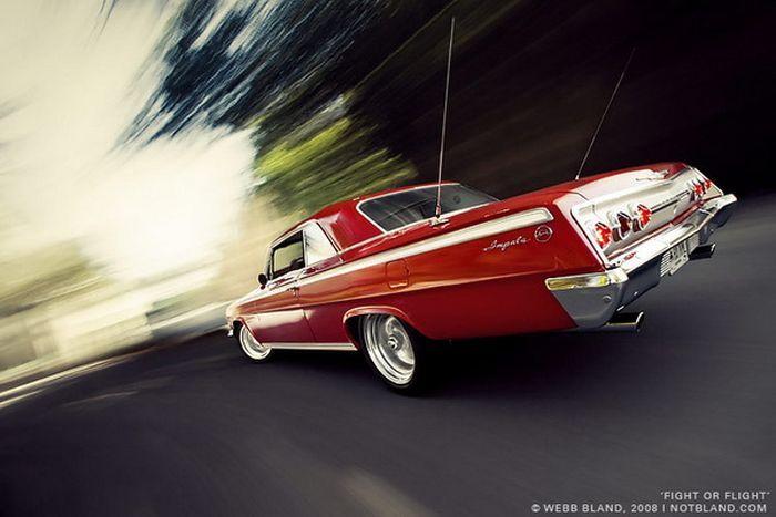 Красивые фотографии автомобилей от Webb Bland (24 фото)