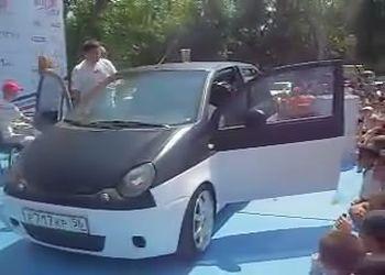 Автозвук в Матизе