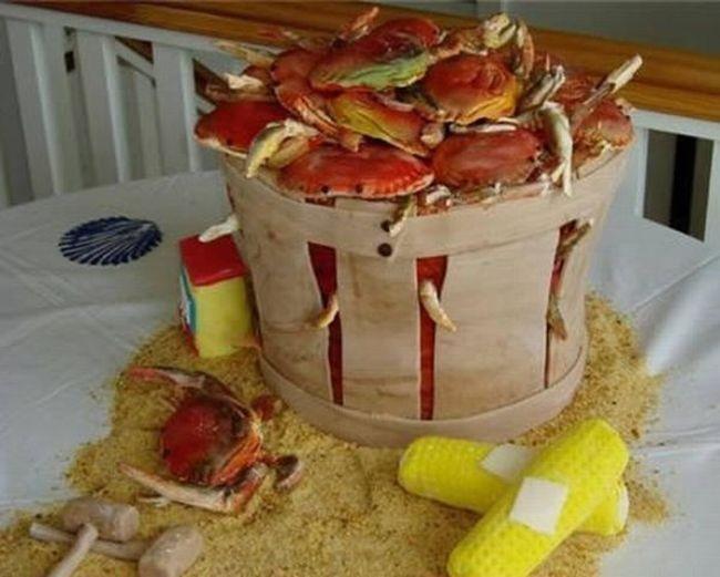 Уникальные свадебные торты (11 фото)