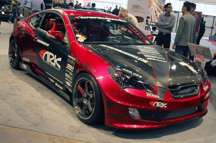ARK Performance показали тюнинг кит для Hyundai Genesis Coupe (15 фото)