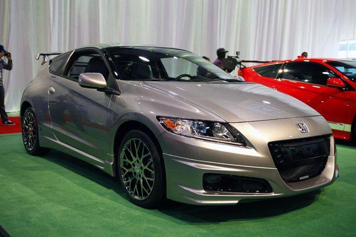 На SEMA Honda показала гибрид CR-Z в обвесе Mugen (8 фото)