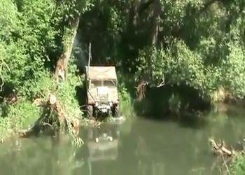 Переправа Хамера через реку
