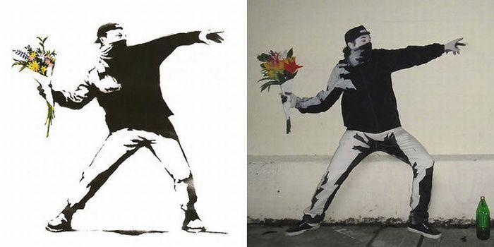 Граффити оживает (10 фото)