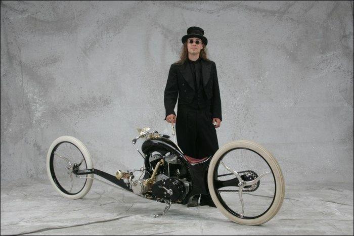 Isto Kotavuopio - финский изобретатель построил эксклюзивный мотоцикл (5 фото)