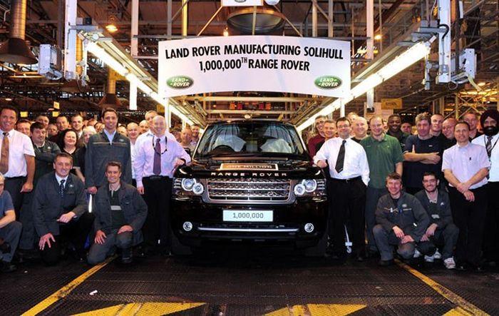 Land Rover объявила о выпуске миллионного внедорожника Range Rover (22 фото)